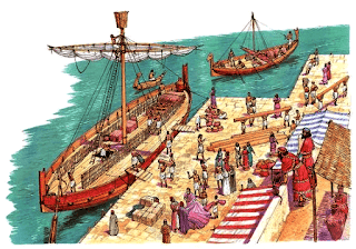 Los cananeos eran unos magníficos navegantes