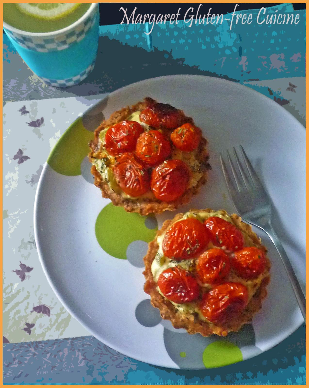 Kuchnia Bezglutenowa Margaret Tartaletki Z Pomidorkami Koktajlowymi