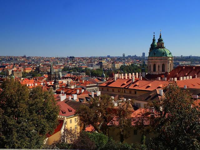 Panorama na Pragę
