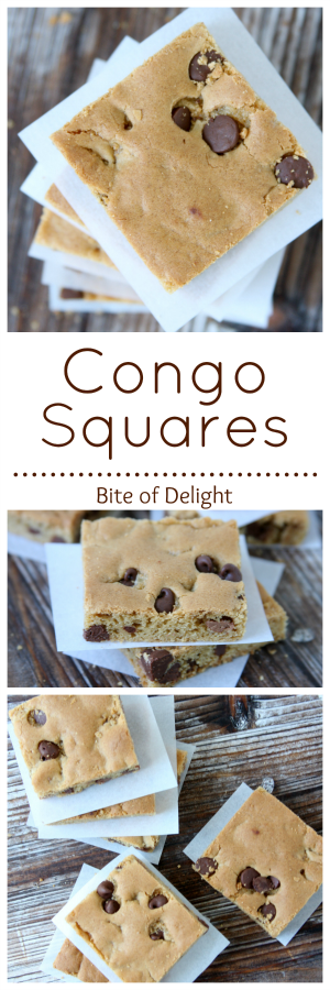 Congo Squares | Cookie Recipe