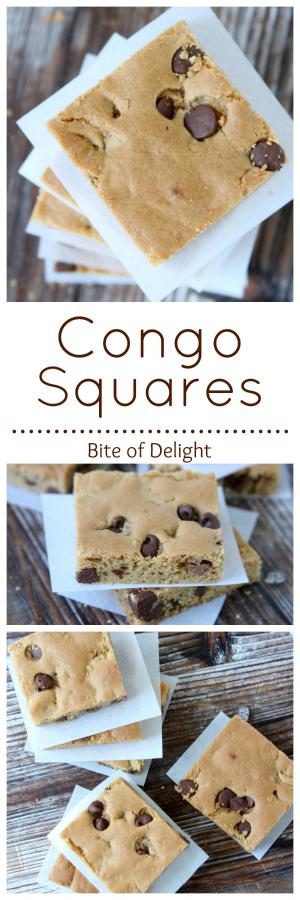 Congo Squares | Cookie Recipe