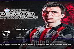 PES 2021 Winter Season Full Transfer PS2 ISO