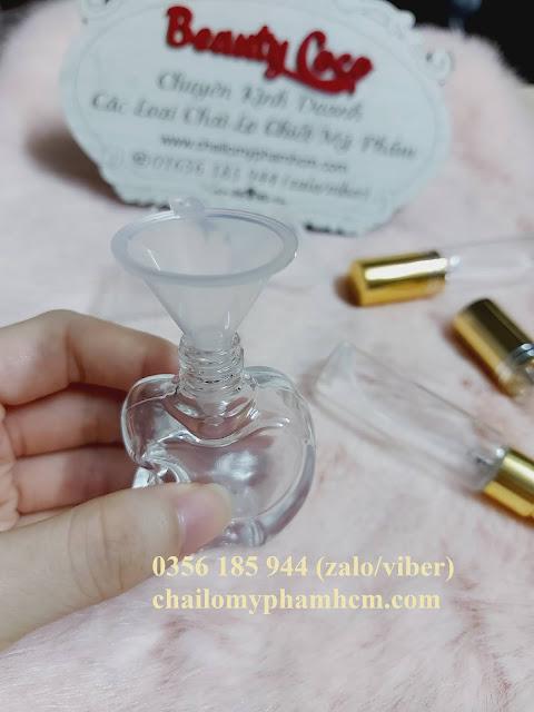 Phễu mini chiết nước hoa