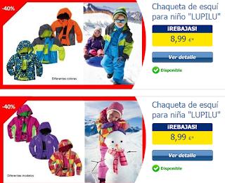 ropa para nieve niños