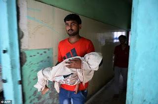 64 παιδιά πέθαναν μέσα σε πέντε ημέρες σε νοσοκομείο της Ινδίας.