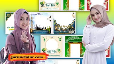 Bingkai Twibbon Ucapan Selamat Idul Fitri 1442 H