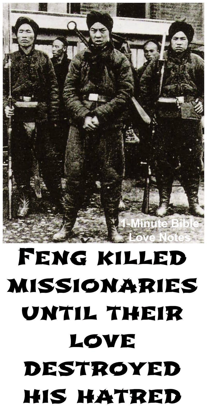 Boxer Revolution, Feng, Missionaries, China, Christianity