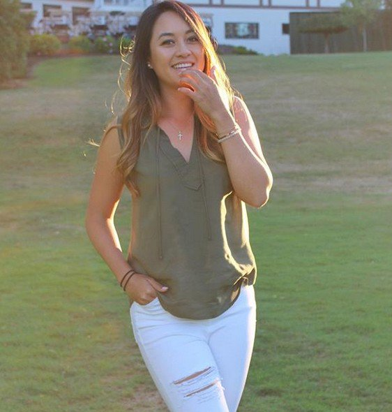 golfer Gabby Then