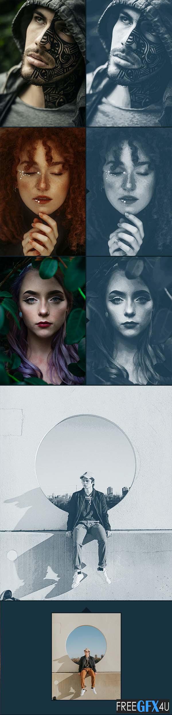 Painted ART - Artistic Photoshop Action Vol-2