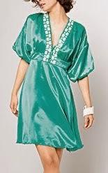 Patrón gratis vestido Burda primavera-verano