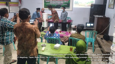 Dlisenkulon Berhasil Melaunching Program Desa Mandiri Pupuk