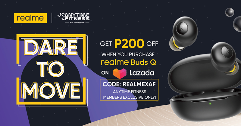 realme and Anytime Fitness collaborates for the campaign