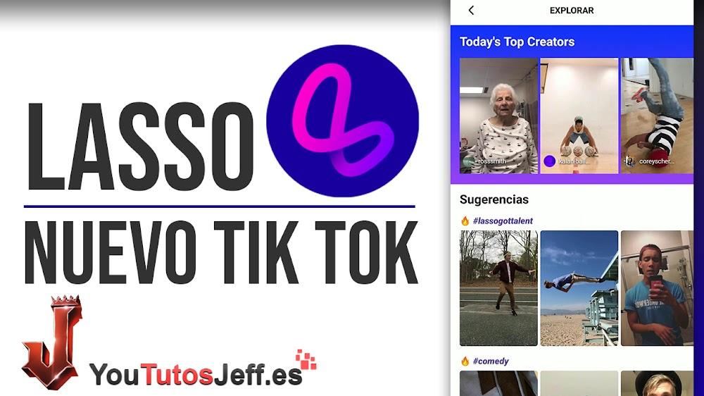 Descargar Lasso APK el Tik Tok de Facebook