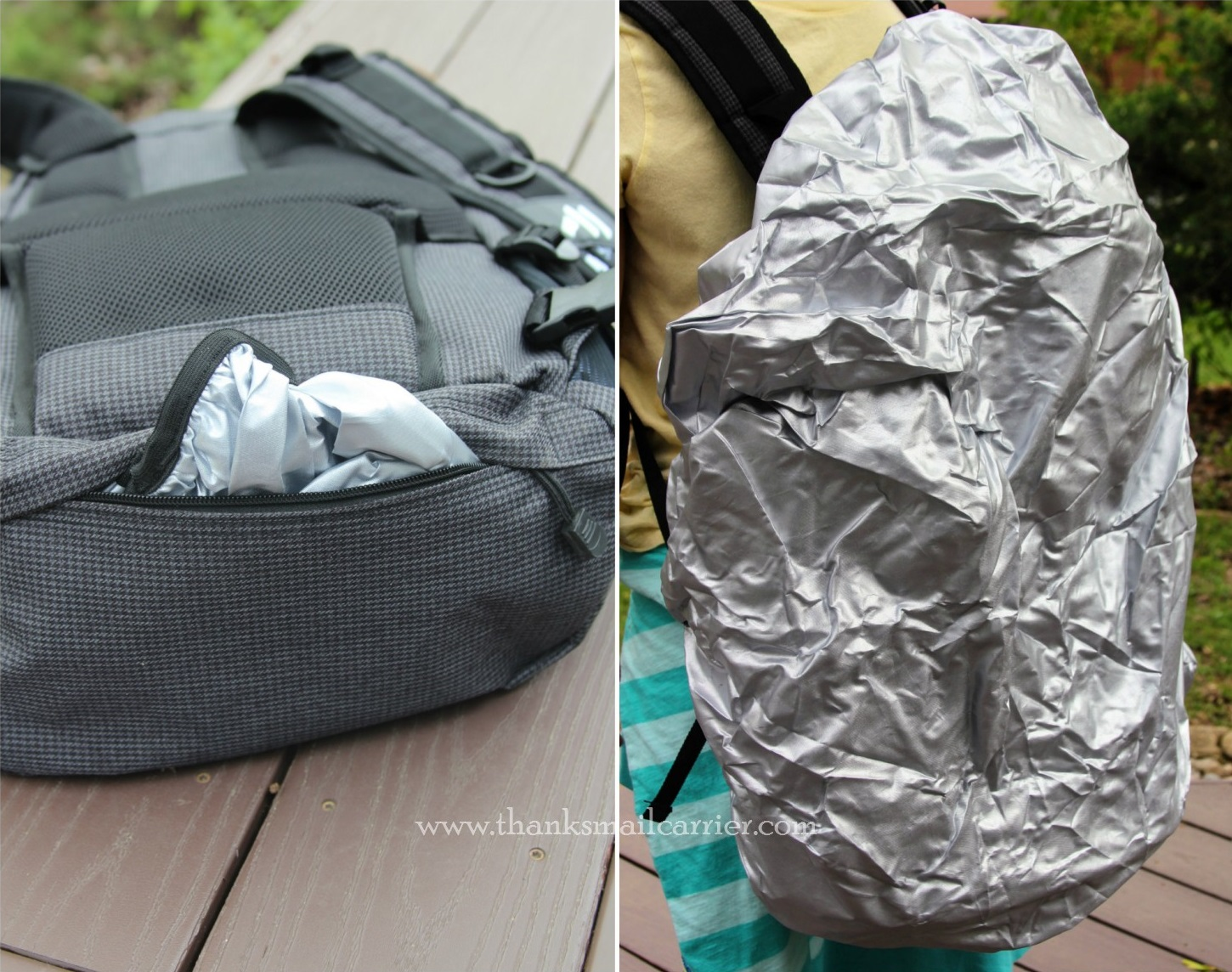 Machir backpack rain cover