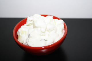 La Cuciniera Moderna Cucina libanese cetrioli e yogurt