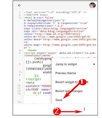 Mobile se HTMl Code Edit