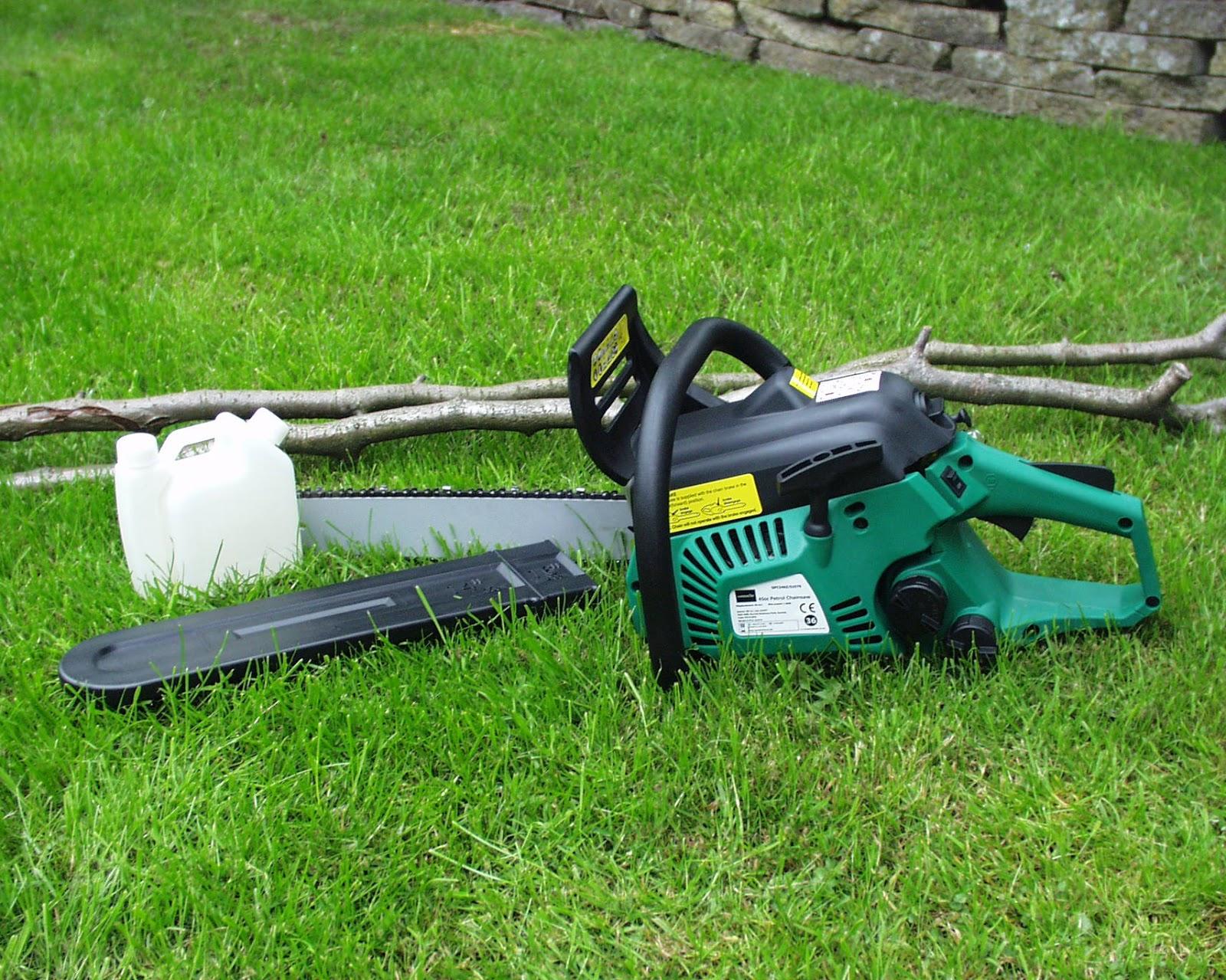Aldi Gardenline Oregon 45cc 2 Stroke Petrol Chainsaw