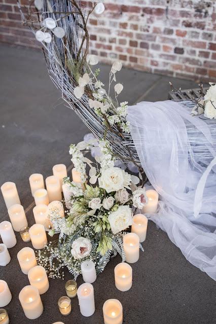 pixel punk pictures bridal gowns hair piece makeup cape florals