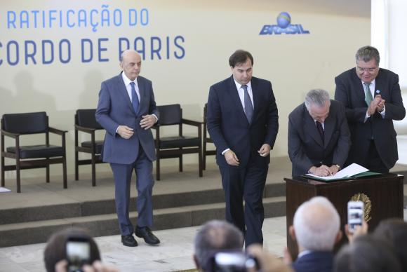 NEWS | COP21 Update: Brazil ratifies Paris Agreement