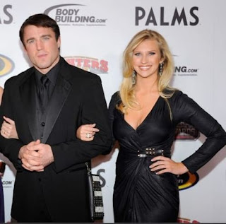 Chael Sonnens Wife Brittany Smith Thinks Her Husband Is Sweet