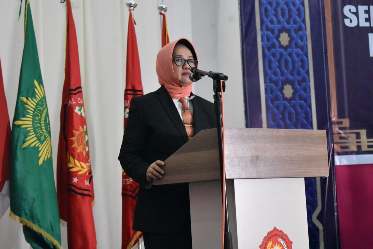 Hadiri Wisuda STISIP Muhammadiyah Sinjai, Ini Pesan Andi Kartini Kepada Wisudawan
