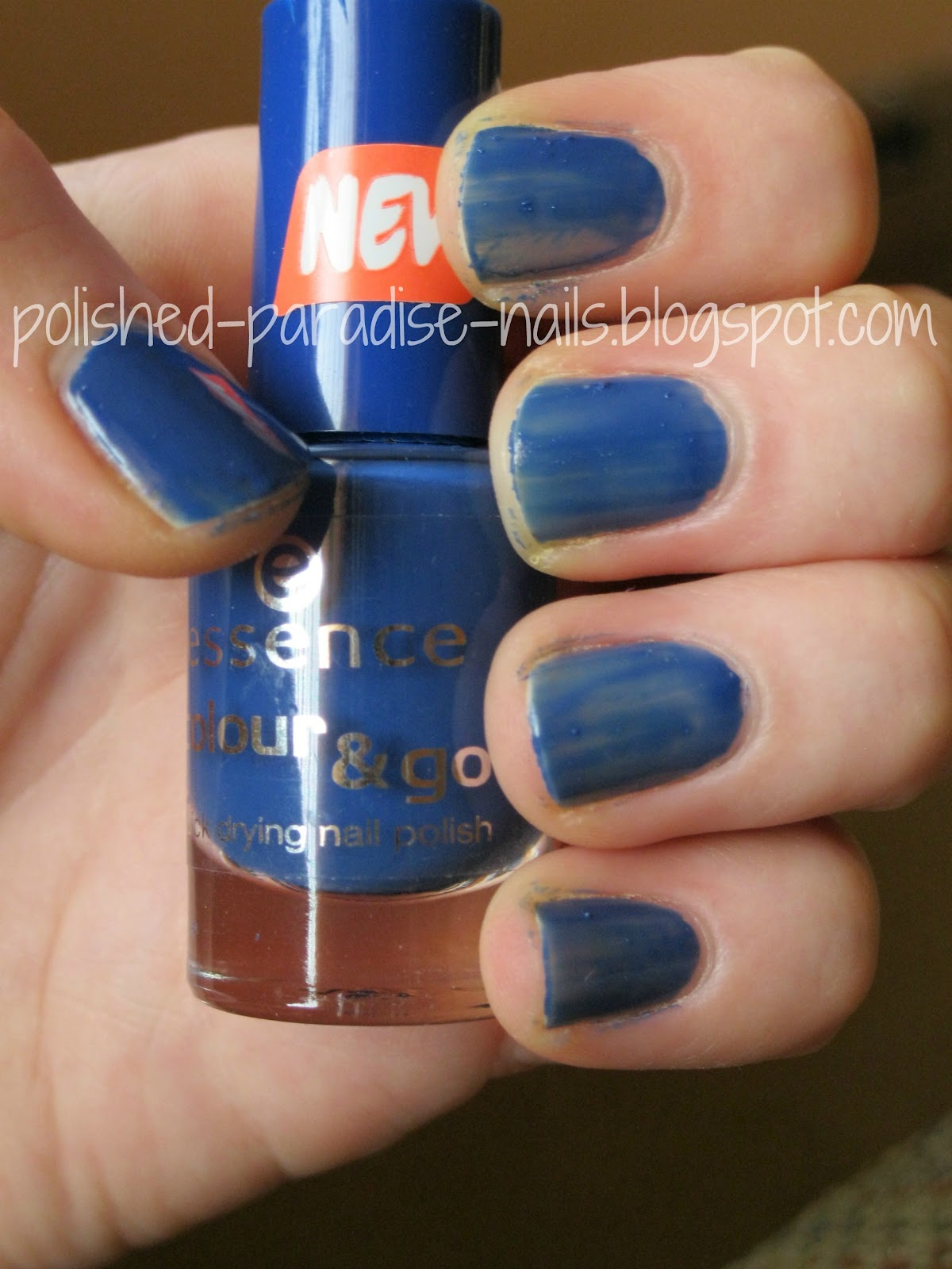 What Colour Nail Polish Goes With Navy Blue