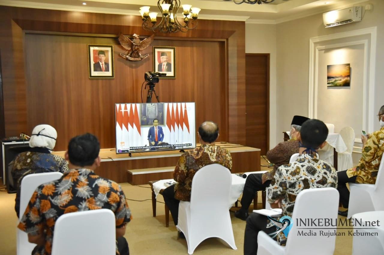 Gus Yazid Ikuti Musrenbangnas Virtual, Jateng Juara 1 Perencanaan Pembangunan Nasional