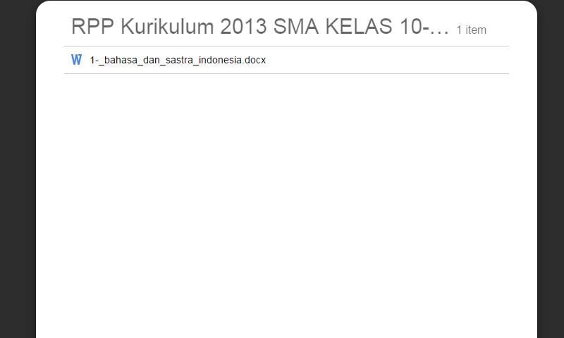 New Revisi Rpp Kurikulum 2013 SMA Kelas 10-11-12 Bahasa Dan SastraIndonesia Lengkap Terbaru