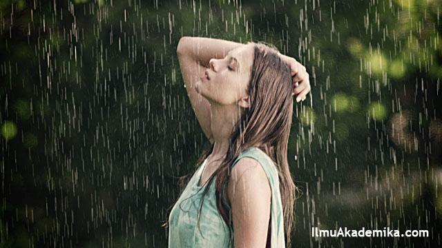 kata kata bahasa arab tentang hujan