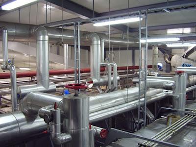 Instalacion aluminio calorifugado