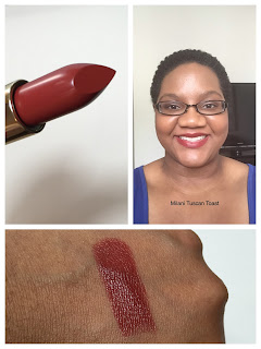 Milani Color Statement Lipstick Tuscan Toast Swatch