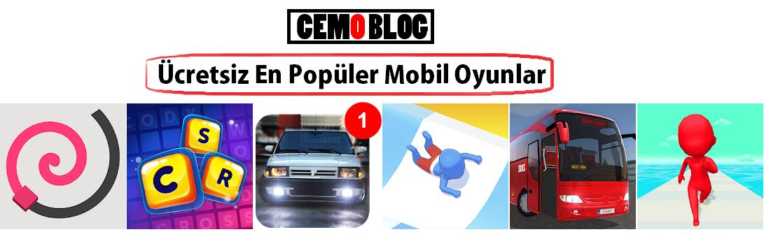 Ücretsiz En Popüler Mobil Oyunlar