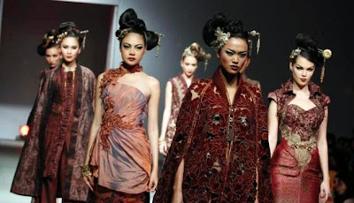 Model Baju Kebaya Buat Fashion Show