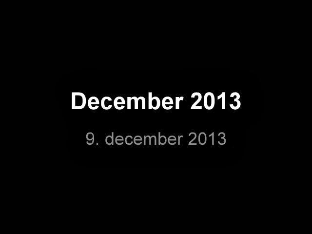 hvem synger december