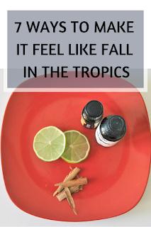 Fall, flatlay, essential oils, cinnamon, lemon, organic