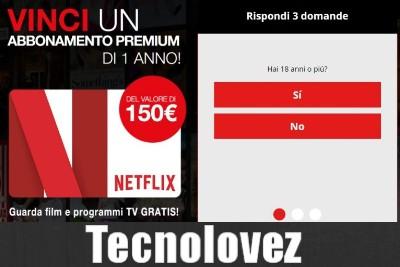 Attenti alla nuova truffa - Netflix Vinci un abbonamento premium di 1 anno