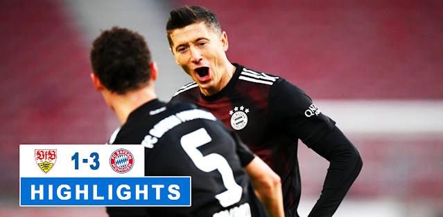 Stuttgart vs Bayern München – Highlights