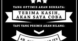 Dp Bbm Kata Bijak Mario Teguh Optimis Dan Pesimis Teranyar