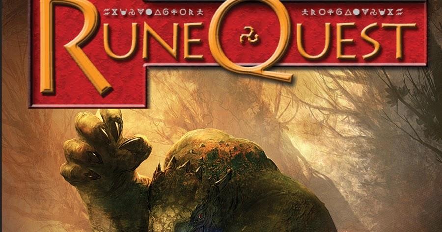 Tenkar's Tavern: RuneQuest 6 - Review - Part The First