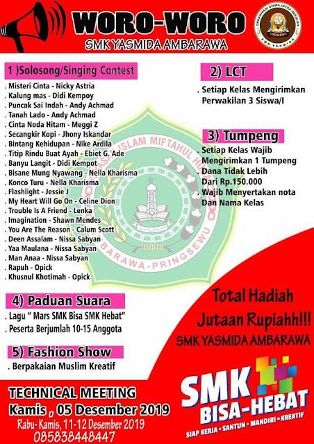 Desain Class Meeteng SMK Yasmida Ambarawa tahun 2019