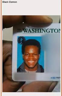 Persona raza negra parecido a matt damon