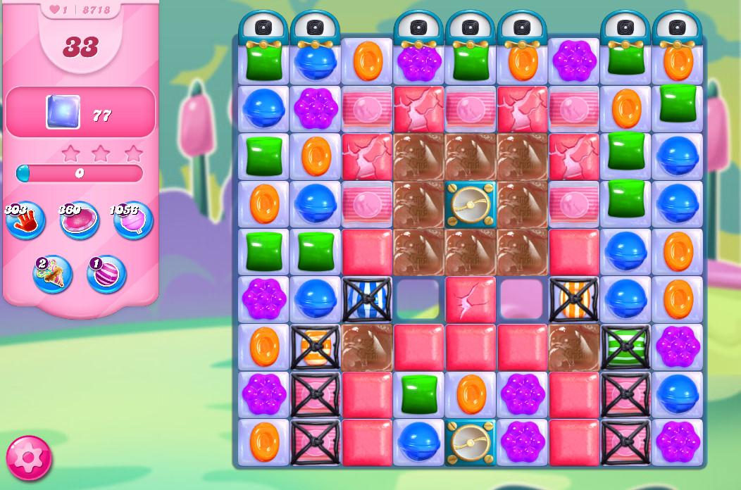 Candy Crush Saga level 8718