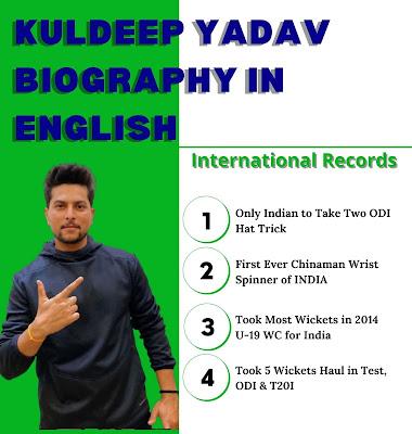 Kuldeep Yadav Biography in English