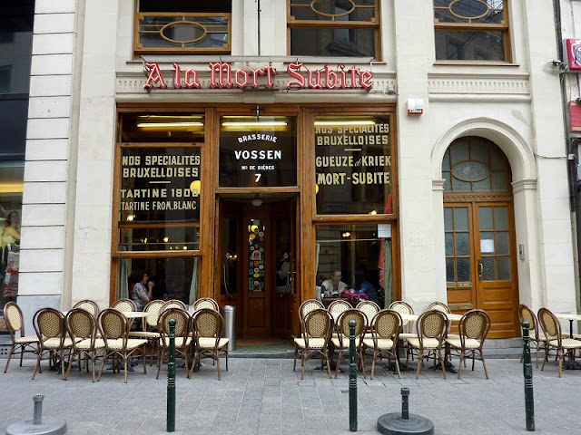 A La Mort Subite em Bruxelas