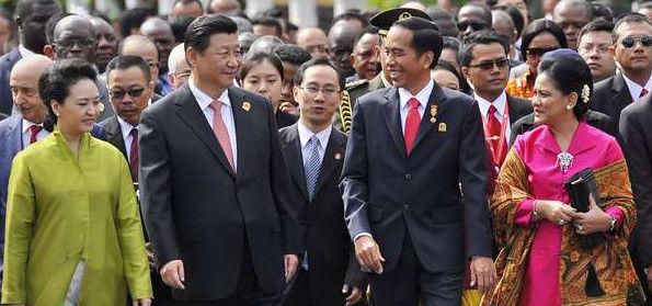 Jokowi Jadi Presiden,Tiongkok Sapu Bersih Proyek Infrastruktur Indonesia