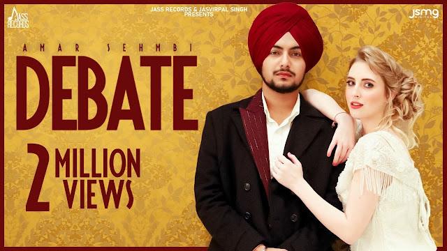 Debate Song Lyrics - Amar Sehmbi | Gur Sidhu | Latest Punjabi Songs 2020 | Jass Records Lyrics Planet