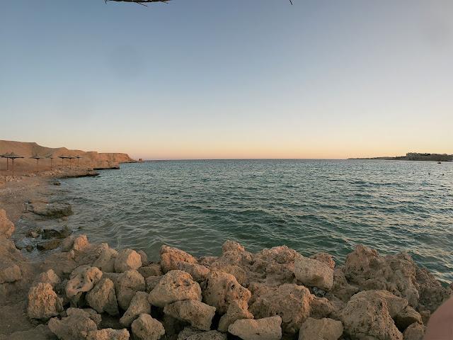 Marea Rosie-n Sharm, Egipt - Naama Bay -