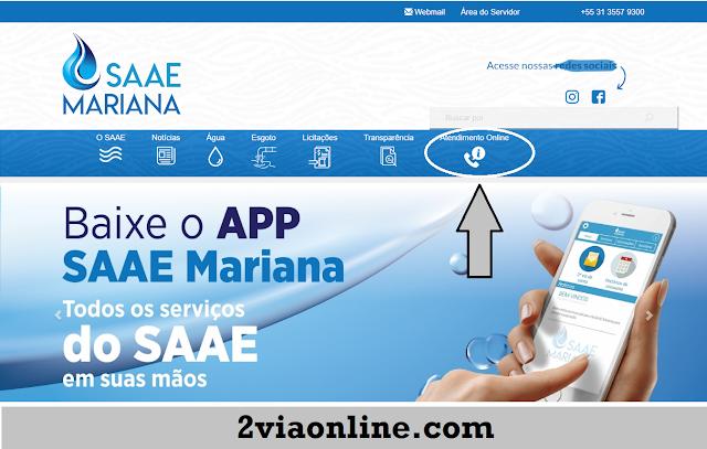2ª Via SAAE Mariana-MG