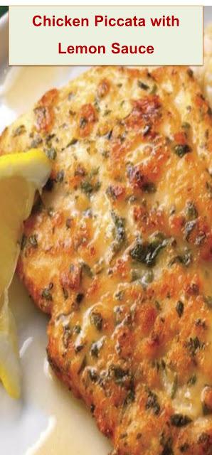 Chicken Piccata with Lemon Sauce #piccata #chickendinner #chicken #chickendinner #chickenrecipeseasy #recipes #recipesfordinner