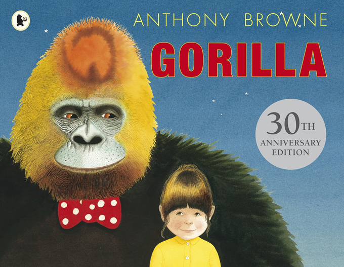 Gorilla Anthony Browne Children's books with a message http://www.archieandtherug.com/